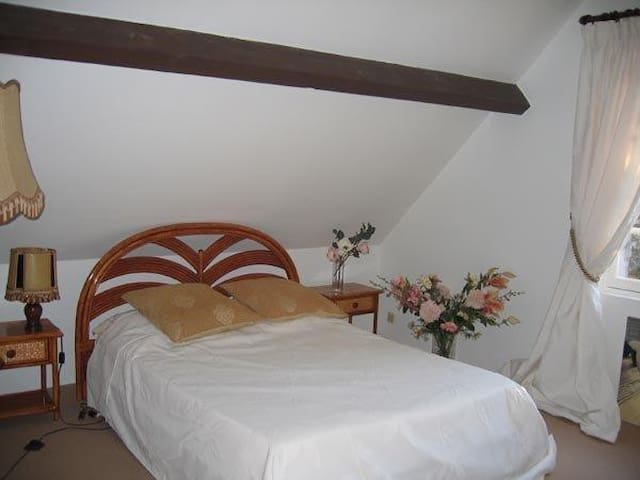 CHAMBRE  PRIV  DS MAIS  CHARME PISC BILL PING PON - Bouzy-la-Forêt - Bed & Breakfast