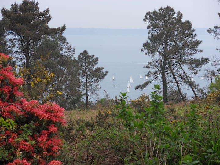 Maison, mer et nature