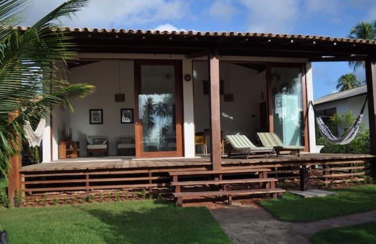 Conforto em Praia Virgem! Casa 2 - Tatuamunha - Ház