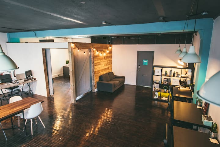 Open Workspace for Events, Workshops, Film & Photo