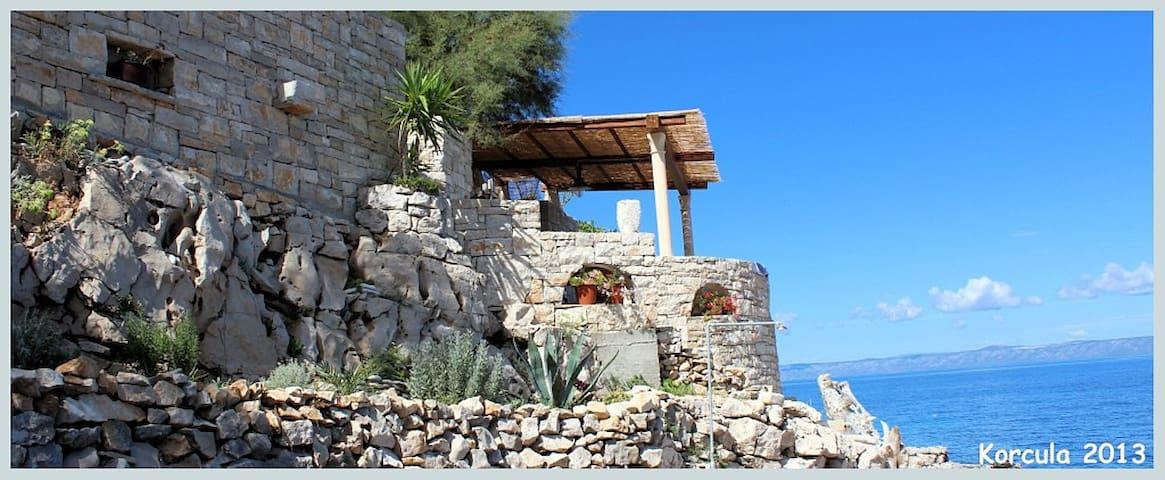 Kuća za odmor LUNA - Blato - Huis