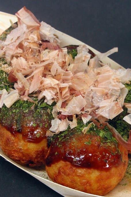 All you can eat Takoyaki we cook!!