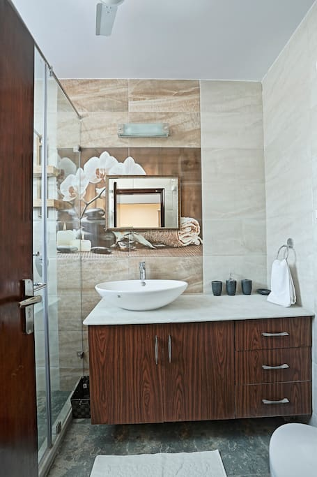 Private Bathroom in a Suite