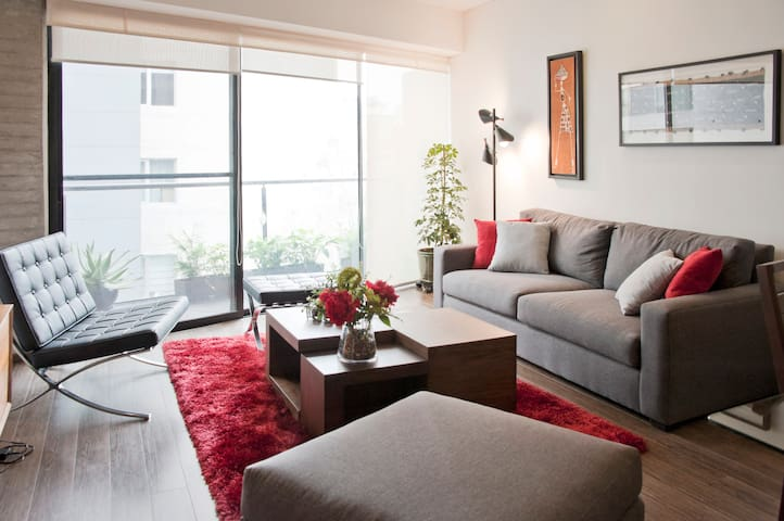 Brand new apartment, excellent location - Mexico City - Lägenhet