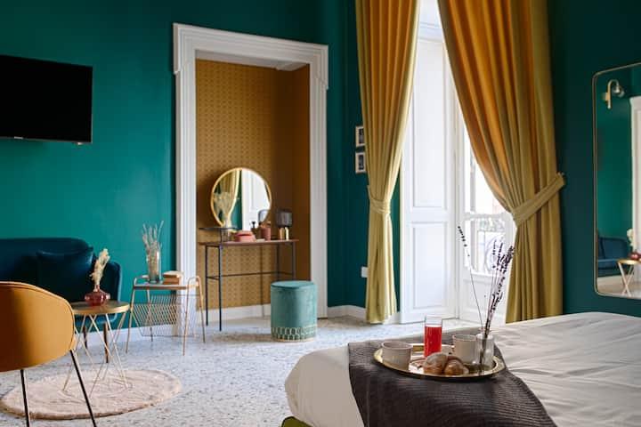 Quatrum | Suite con balcone