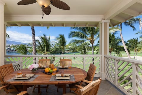 Waikoloa Fairway Villas K31.  Great Location and lake views!
