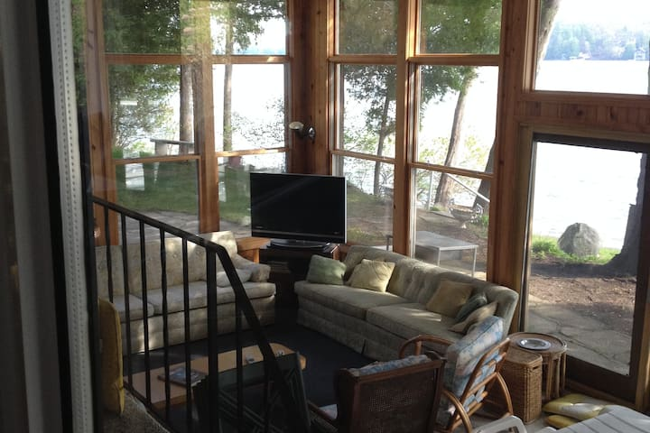 Elkhart Lake Lakeside cottage - Elkhart Lake - Hus