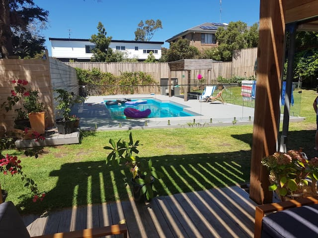 Surprise oasis offering relaxed al fresco living.