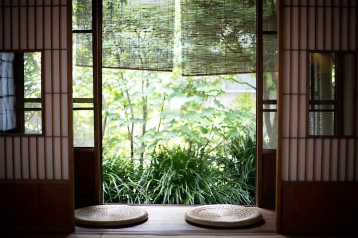 鎌倉の古民家1棟貸切 庭付き海近(ペット可)stay&relaxationリラクゼーションサロン併設