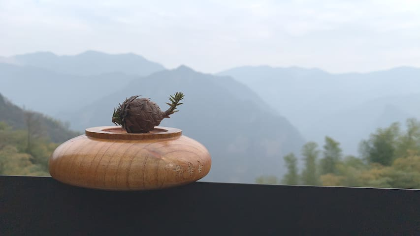 『青静谷*远山』安吉天池大竹海漂流观日出回归自然吸氧观景度假家庭休闲游大套房