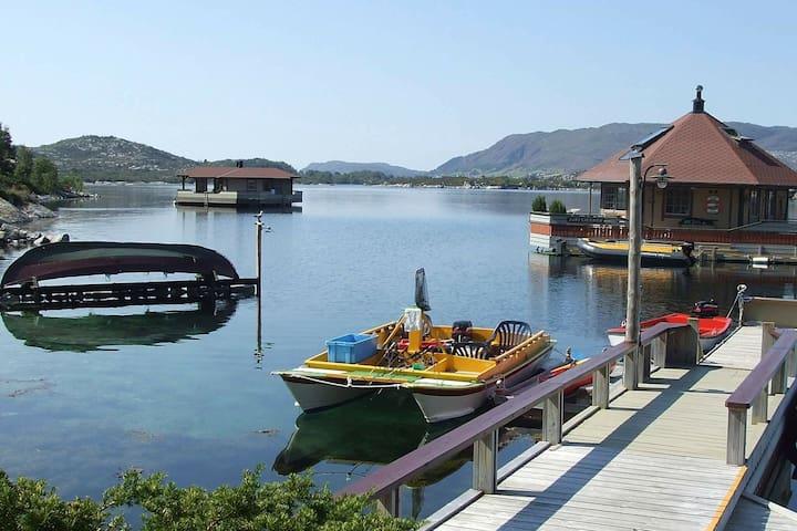 5 Sterne Ferienhaus in Kalvåg