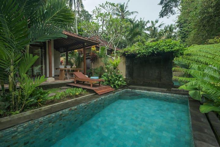 1BR PRVT POOL Villa in Heart Village Ubud #VIRMAS