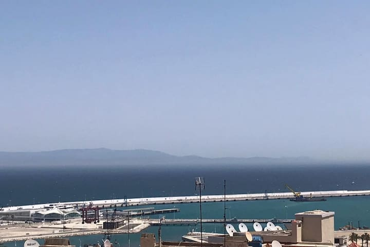 Sea View appartement , Heart Of Tangier<3<3