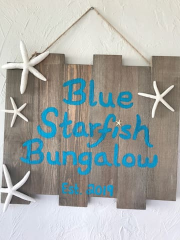 The Blue Starfish Bungalow