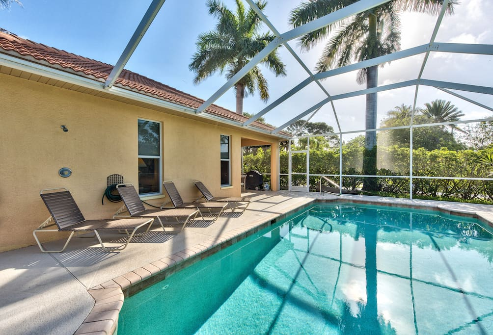 Newly decorated private pool walk to the beach houses - Florida condo swimming pool rules ...