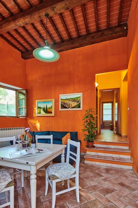 FIRENZE-VINCI appartamento splendido con giardino