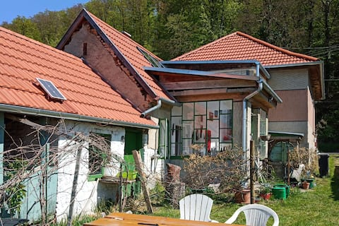 Converted Farmhouse Tourist Area. Western  Hungary