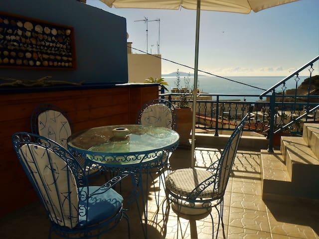 Blue Galini Apartment **Sea-View**