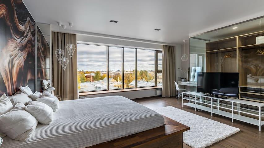 Видовые апартаменты с авторским дизайном