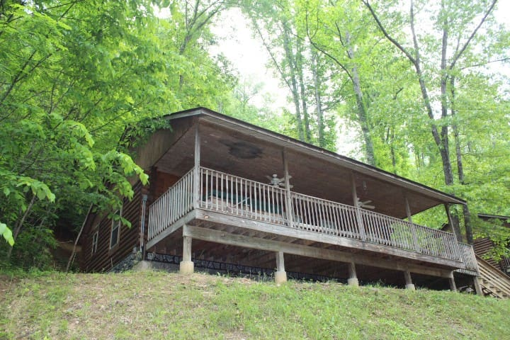 Cabin #9 - Front