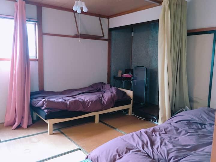 yado & kissa UGO HUB <Mixed room>