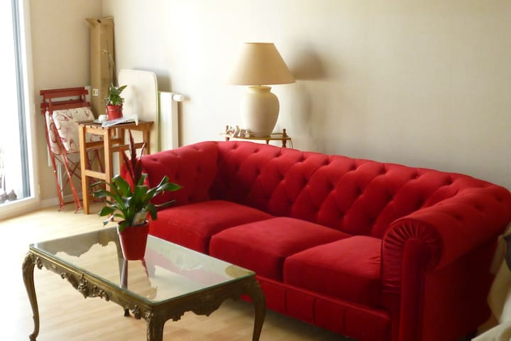 Chambre double calme Beaulieu - Cesson-Sévigné