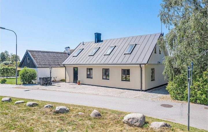 Stunning home in Trelleborg with WiFi and 3 Bedrooms