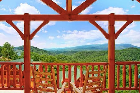 Pigeon Forge Cabin, Minutes to Parkway, Mountains - 赛维尔维尔(Sevierville) - 小木屋