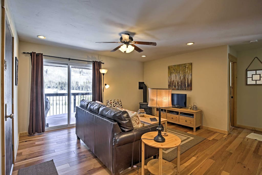 You'll feel right at home inside this comfortable condo.