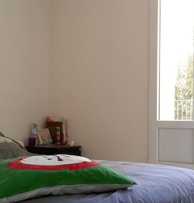 La chambre...