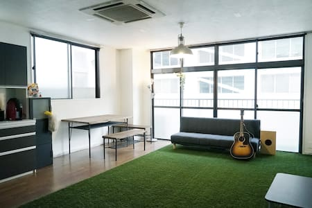 【3min from station】Blue Lake Room / Eng OK! - Apartment