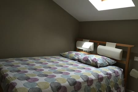 Chambre double, salon, sdb - Bruges - Bed & Breakfast