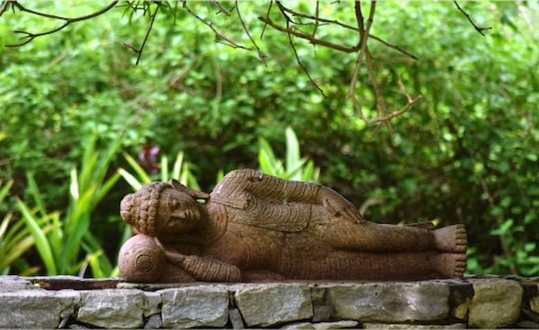 And the statue of Buddha quietly whispers - Be kind to nature. This is the true religion!