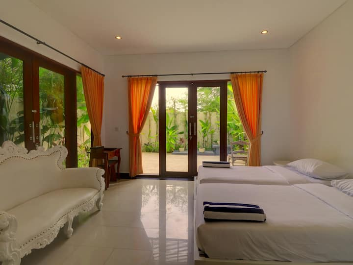 """75% OFF"" Sanur Private room W/ terrace & kitchen"