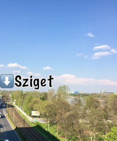 SZIGET Festival 2017 - Budapest - Apartment