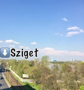 SZIGET Festival 2017 - บูดาเปสต์ - อพาร์ทเมนท์