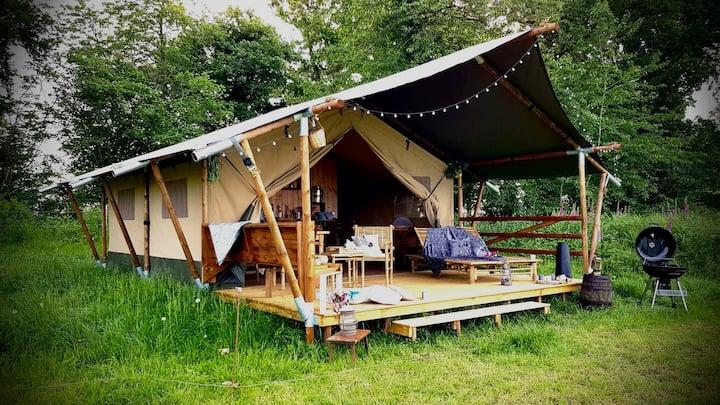 Tente Safari Lodge Champêtre