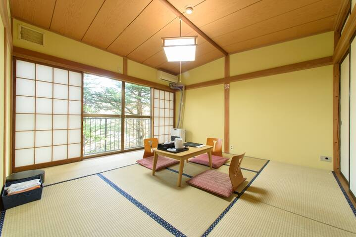 Japanese Inn in the Woods/3P/Karuizawa Sta 15min