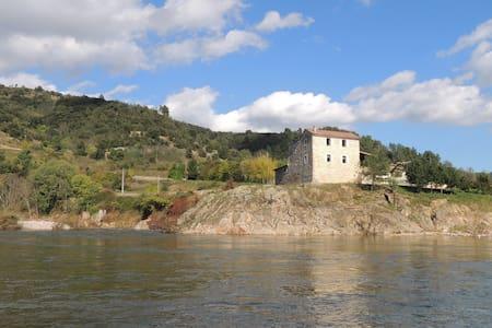 En bordure de rivière... - Saint-Fortunat-sur-Eyrieux