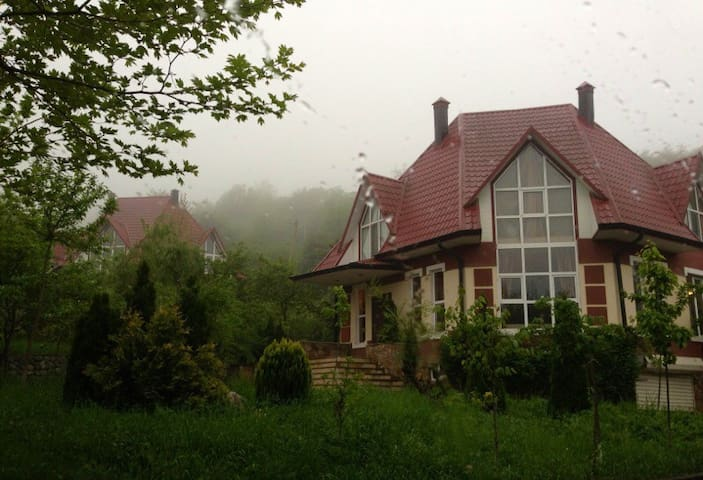 Cozy Family Villa (air conditioner)  with garden