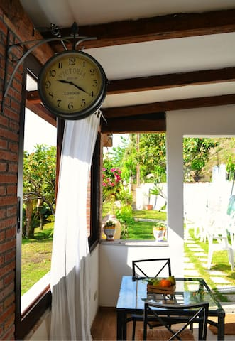 Room with terrace-50m from the sea
