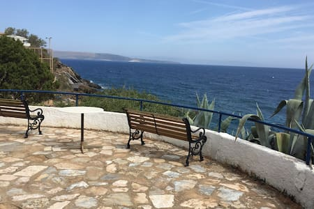 Close to Athens w direct access to sea in Sounio - Sounion - Kato Sounion - Bungalow