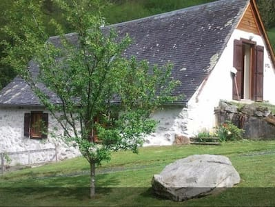 Grange rénovée vue sur la montagne - Arrens marsous