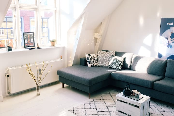 Hygge and cozyness in the heart of Frederiksberg - Frederiksberg - Apartment