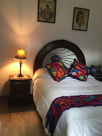 Lovely Room in Historical Coyoacan - Cidade do México - Casa
