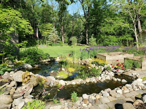 🏞 COUNTRY MOUNTAIN OASIS w Frog Pond-Private&Cozy