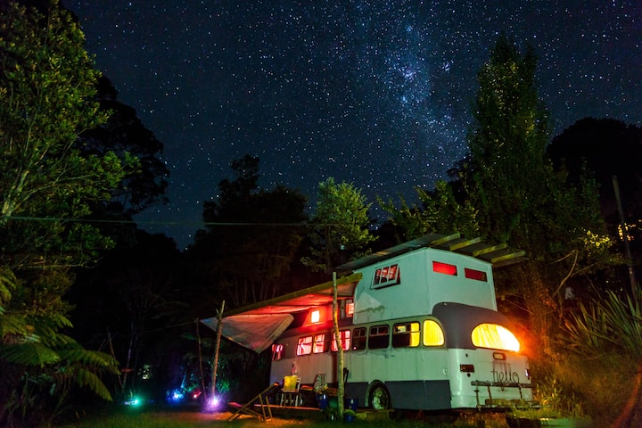 River Gypsy House Bus glamping