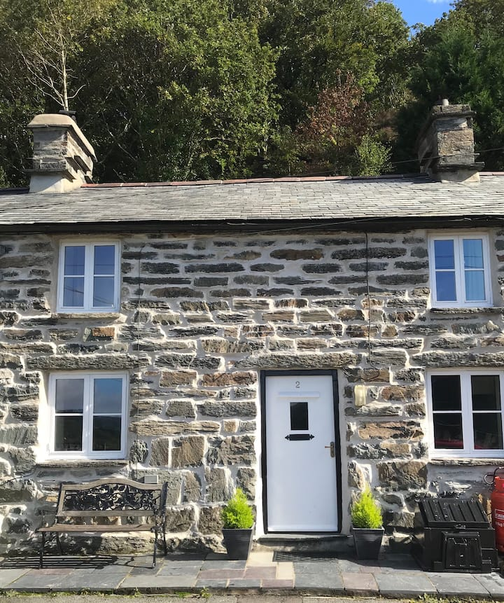 Maentwrog Home with a fantastic View. Pet welcome