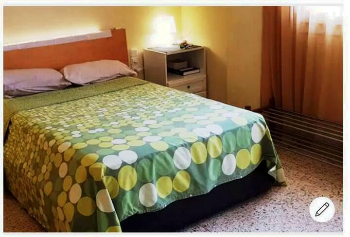Habitación doble en Barcelona