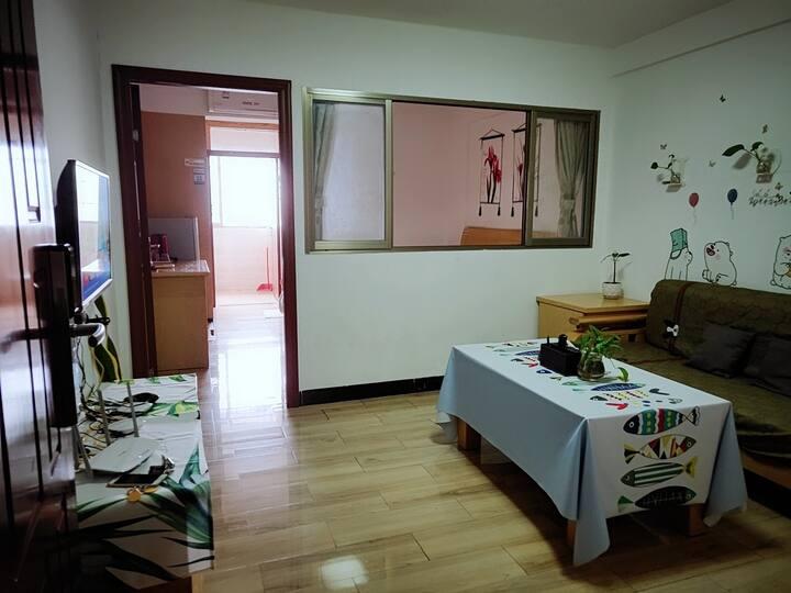 (碧水蓝天)(中式一房一厅)广清高速公路路口